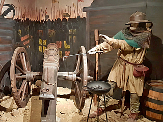 Táborské husitské muzeum a podzemí aneb křížem krážem po patnáctém století (Česká republika)