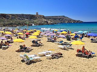 Nejkrásnější pláže Malty aneb nejčistší voda v celém Středomoří (Malta)
