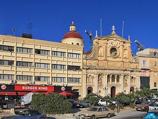 Fotogalerie z města Sliema na Maltě (Malta)