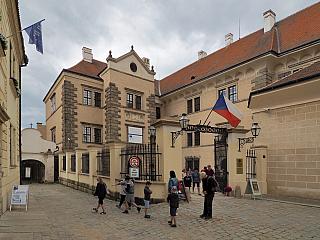 Zámek Telč je památkou na mistry italského stavitelství (Česká republika)