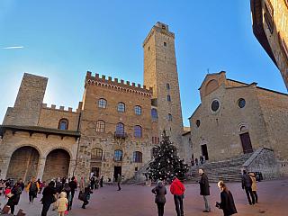 Video z toskánského San Gimignana (Itálie)