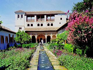 Alhambra - fotogalerie z roku 1998 (Španělsko)