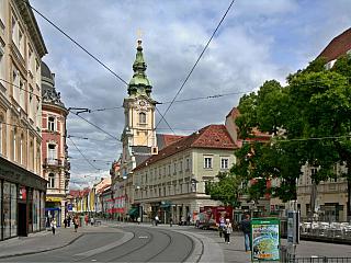Graz - fotogalerie z roku 2010 (Rakousko)
