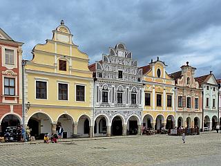 Velké historické náměstí a renesanční zámek, Telč se vám bude líbit (Česká republika)