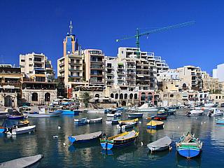 St. Julians na Maltě – fotogalerie z roku 2010 (Malta)