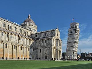 Fotogalerie z Piazza dei Miracoli v italské Pise (Itálie)