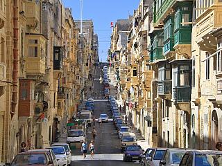 Valletta – fotogalerie z roku 2010 (Malta)