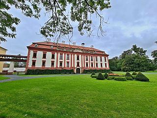 Baroko a hraběnka Marie, to je zámek v Kuníně u Nového Jičína (Česká republika)