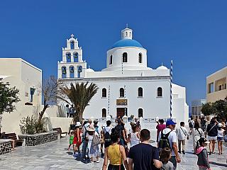 Malé, ale milé – městečko Oia na Santorini (Řecko)