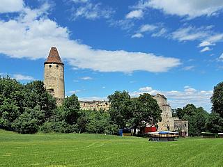 Fotogalerie hradu Seebenstein (Rakousko)
