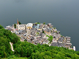 Fotogalerie z rakouského Hallstattu (Rakousko)