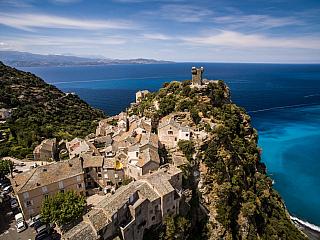 Zeměpis a podnebí Korsiky (Francie)