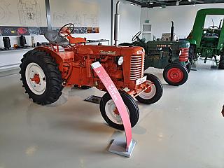 Pro milovníky traktorů značky Zetor je v Brně připraveno muzeum (Česká republika)