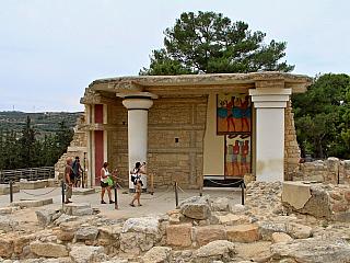 Fotogalerie z Knóssosu na Krétě (Řecko)