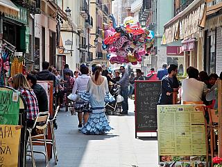 Granada není jen Alhambra, granátové jablko tu opravdu jenom kvete (Španělsko)