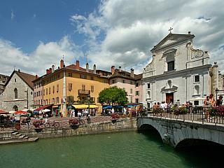 Fotogalerie ze savojského Annecy (Francie)