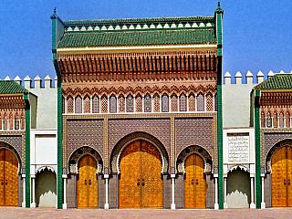 Fotogalerie marockého města Fes (Maroko)