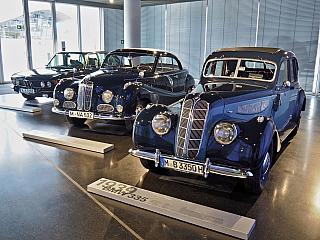 Muzeum BMW určené fanouškům rychlých kol (Německo)