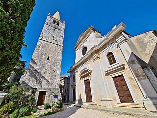 Historické městečko Bale na Istrii (Chorvatsko)