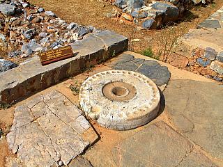 Malia je archeologické naleziště uprostřed Kréty (Řecko)