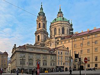 Fotogalerie zimní Prahy (Česká republika)