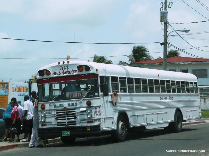Belize - Doprava do země