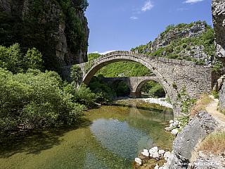 Zagoria - malebné břidlicové vesnice (Řecko)