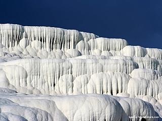 Pamukkale - bílá travertinová nádhera (Turecko)