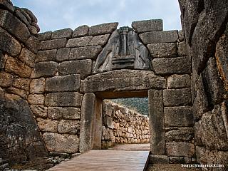 Mykény - město krále Agamemnóna (Řecko)