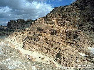 Sinajská poušť - svět pozoruhodných skal (Egypt)