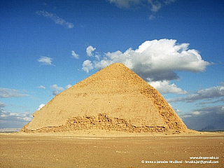 Dahšúr - první pravá pyramida (Egypt)