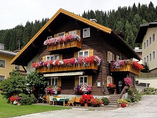 Filzmoos - tradiční rakouská horská obec (Rakousko)
