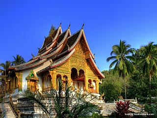 Královstvím slonů - LUANG PRABANG (část 5.) (Laos)