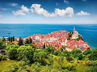 Piran - nejitalštější městečko na Jadranu (Slovinsko)