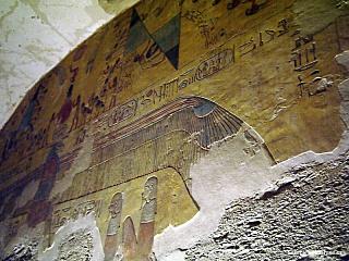 Údolí královen - kde odpočívá krásná Nefertari (Egypt)