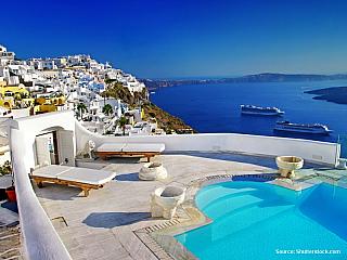 Ostrov Santorini (Řecko)