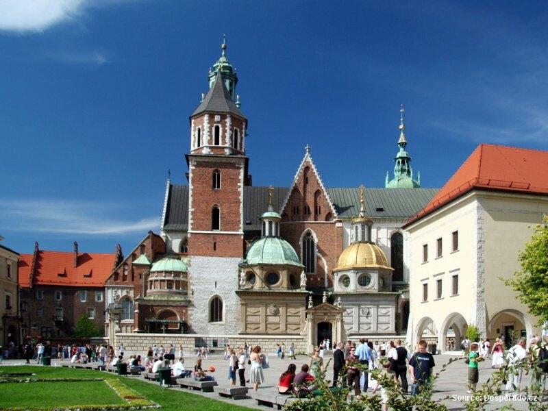 Krakov - polské královské město