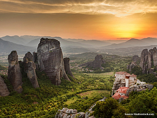 Kudy kam - Meteora a Kastraki (Řecko)