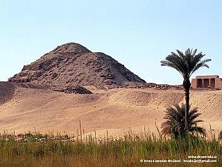 Abúsír - nepřístupné naleziště (Egypt)