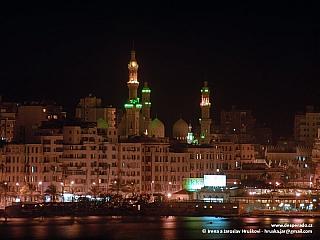 Alexandrie - město královny Kleopatry (Egypt)