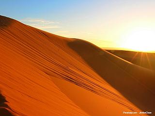 Velké písečné moře - nekonečný svět pouště (Egypt)