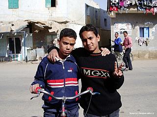 Charga - cestou na jih (Egypt)