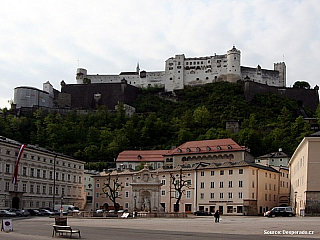Salcburk pevnost Hohensalzburg (Rakousko)