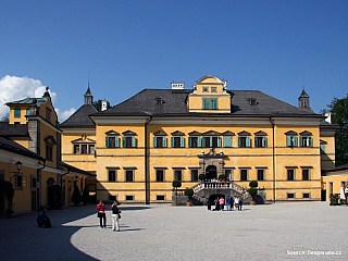 Salcburk zámek Hellbrunn (Rakousko)