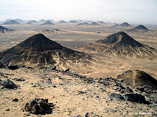 Video Černá poušť v Egyptě (Egypt)