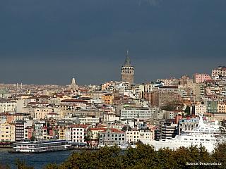 Video z tureckého Istanbulu (Turecko)
