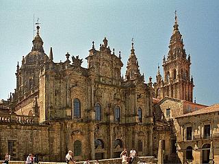 Santiago de Compostela – cestou poutníků (Španělsko)
