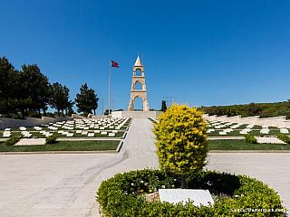 Gallipoli - válečný pomník u Dardanel (Turecko)