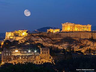 Athény - pupek antického světa (Řecko)