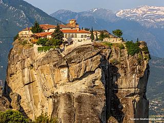 Kláštery Meteora (Řecko)